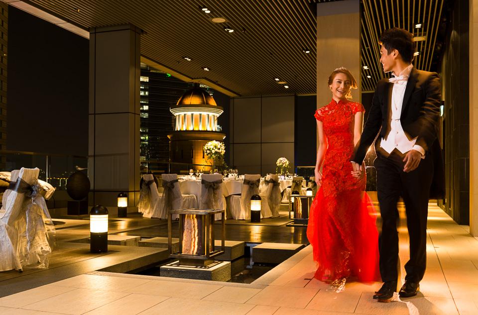 Crowne Plaza Bride & Groom - Evening Reception