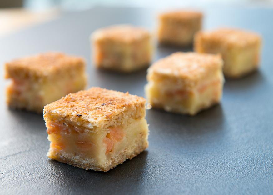 Salmon canape - Feast