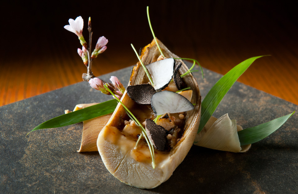 Bamboo Shoot appetizer - Nobu Hong Kong