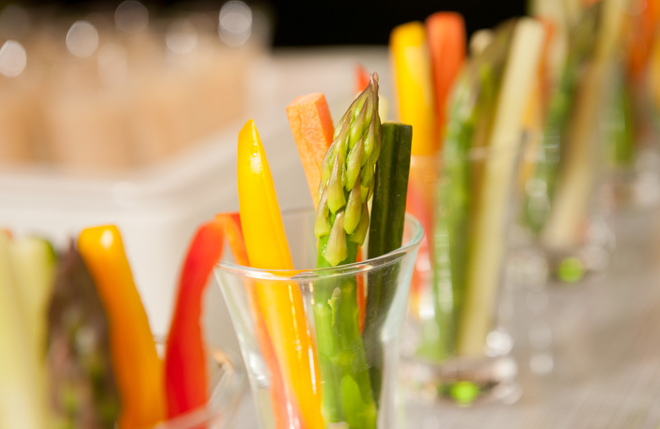 Healthy snack served at InterContinental Hong Kong coffee breaks photographed by Imagennix commercial photographer Scott Brooks