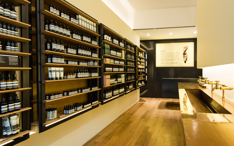 Aesop signature store - Hollywood Road
