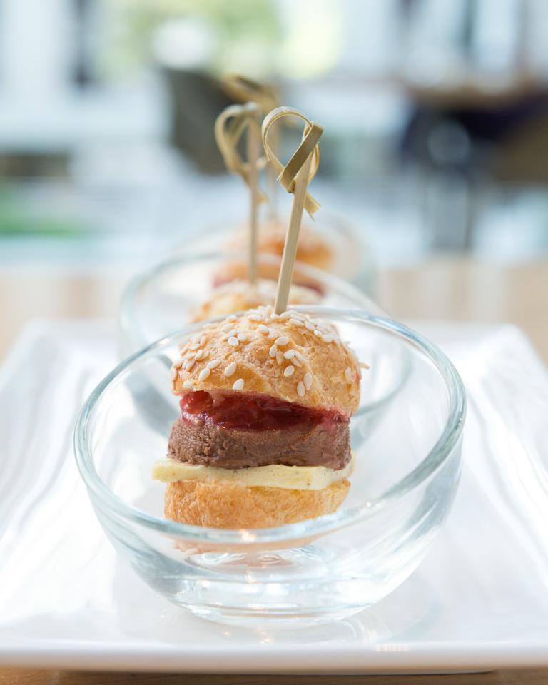Chocolate Mousse Burger