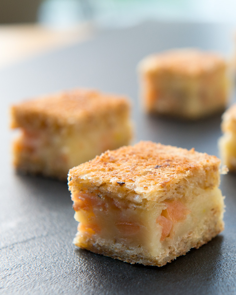 Smoked Salmon mini sandwich